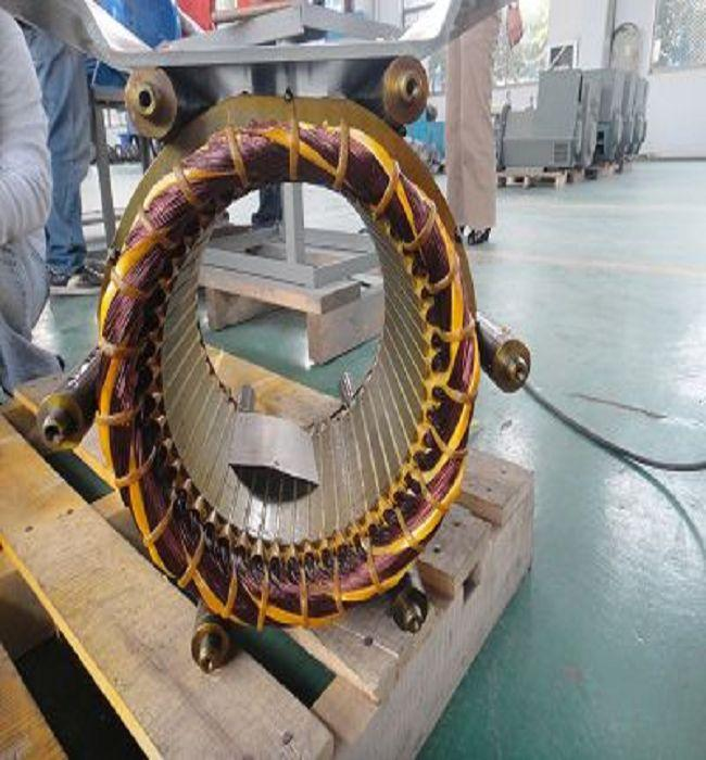 Three Phase Synchronous Permanent Magnetic Generator