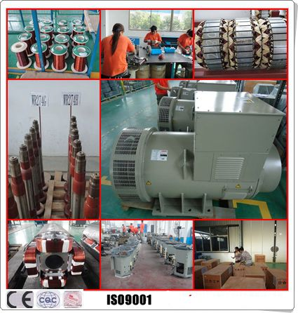 70kw 70kwa Brushless AC Generator 60hz Frequency For All Generator Set 0