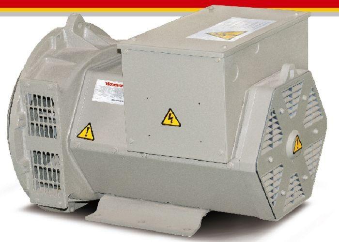 1 Phase Brushless Diesel AC Generator 30 Kilowatt Generator 30kva 1800rpm