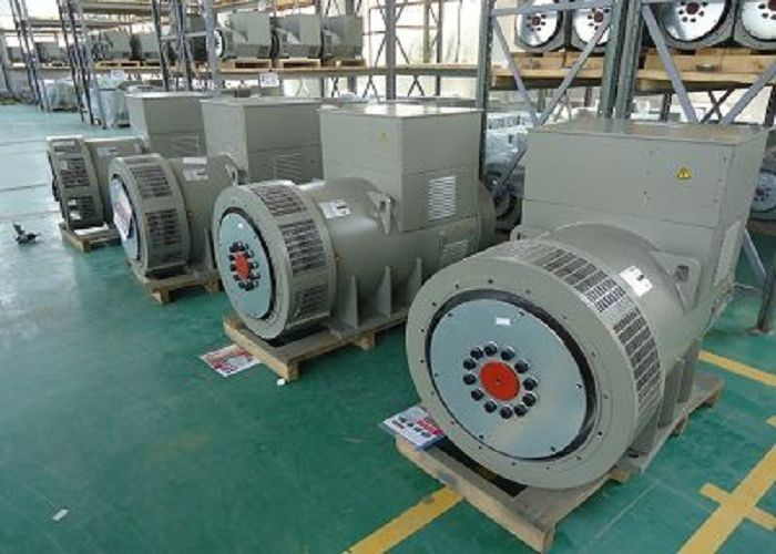 Portable Permanent Magnet Alternator 350kva AC Diesel Excitation