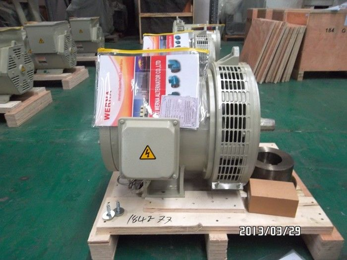 3 Phase 32kw / 40kva Self-excited Double Bearing Alternator For Detzu Genset